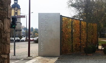 Metalldesign Erfurter Tor Werbetafel