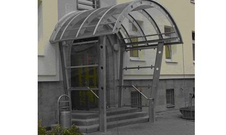 Kaserne Mühlhausen - Vordach